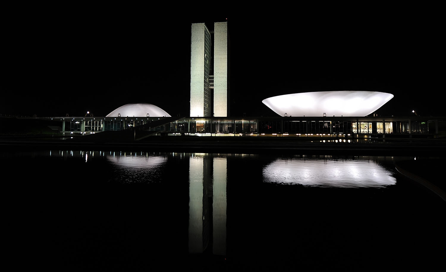 View of the Congress in Brasilia on September 5, 2013
