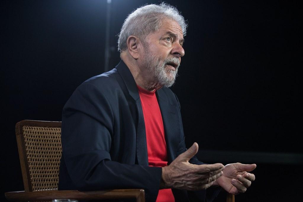 Lula habla con la AFP en el Instituto Lula de Sao Paulo, en Brasil, el 1 de marzo de 2018