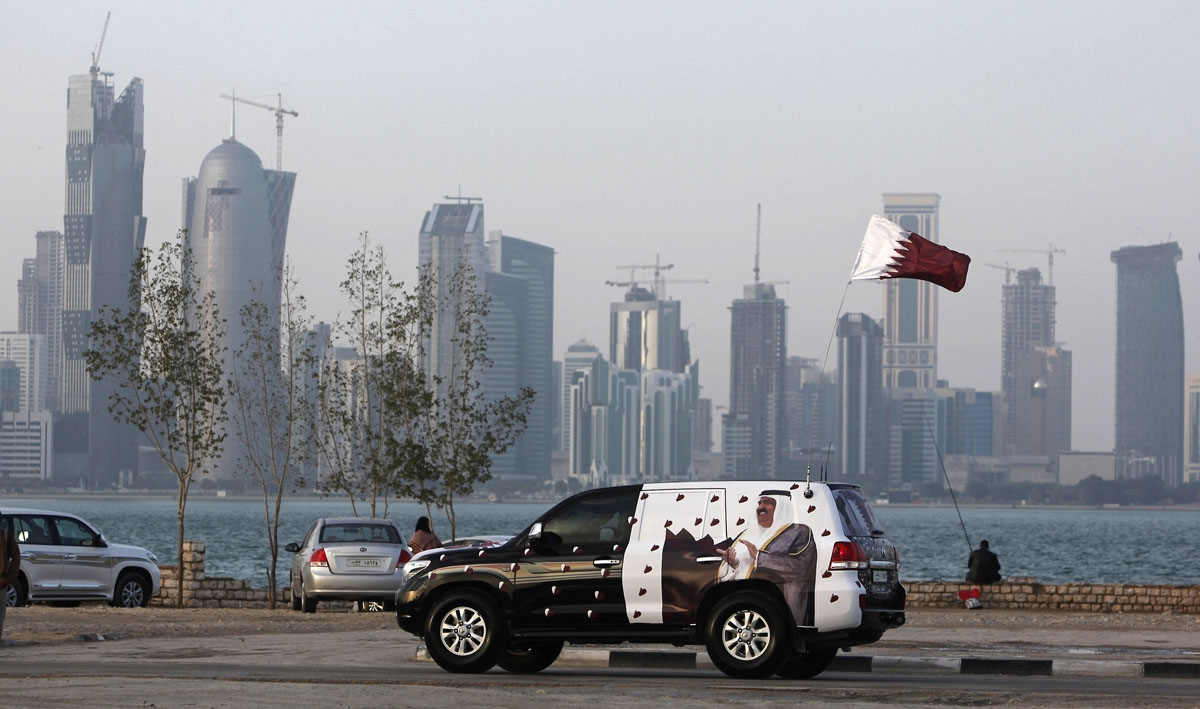 Qatar National Day celebrations in Doha, December, 2009.