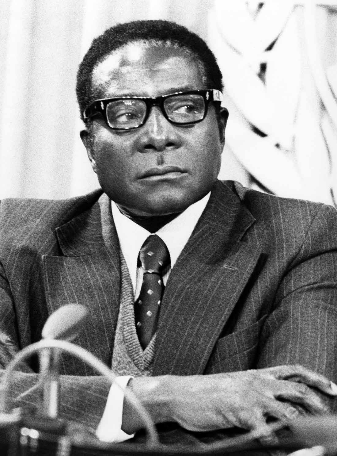 Robert Mugabe at the United Nations in March, 1978.