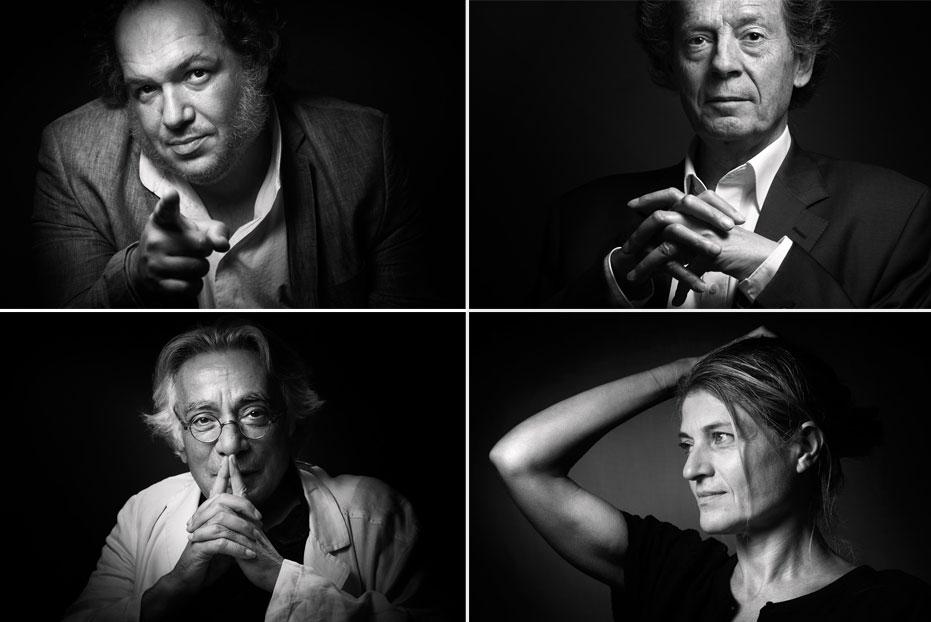 Les quatre finalistes du prix Goncourt 2015