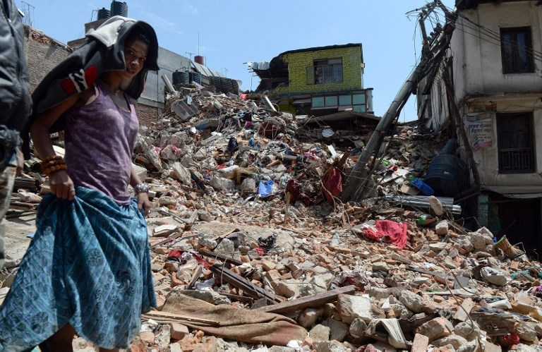 TOPSHOTS-NEPAL-DISASTER-EARTHQUAKE