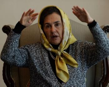 AFGHANISTAN-UNREST-POLITICS-WOMEN-GHANI