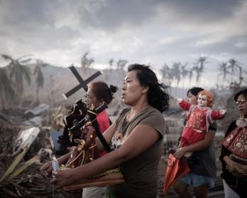 TOPSHOTS-PHILIPPINES-WEATHER-TYPHOON