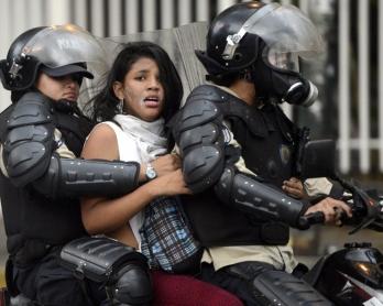 TOPSHOTS-VENEZUELA-POLITICS-OPPOSITION-PROTEST