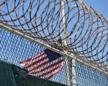 Le camp de détention 6 de Guantanamo, en avril 2014