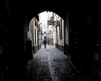 Dans le Vieux Damas, le 21 septembre 2013
