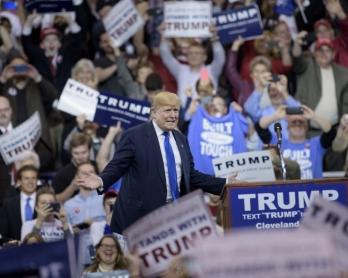 Meeting de Donald Trump à Cleveland, le 12 mars 2016
